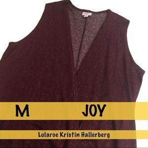 LulaRoe Joy Burgundy